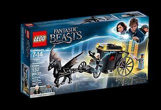 Lego Criaturas Mágicas - Huida Grindelwald (75951)