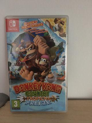 Donkey Kong Tropical Freeze Nintendo Switch