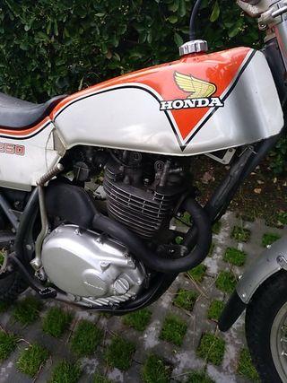 Honda TL 250 trial