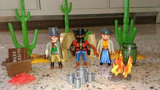 Escondite de los bandidos Playmobil