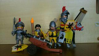 Caballeros del león Playmobil 4871