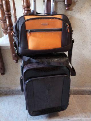 maleta y bolso nuevos los 2