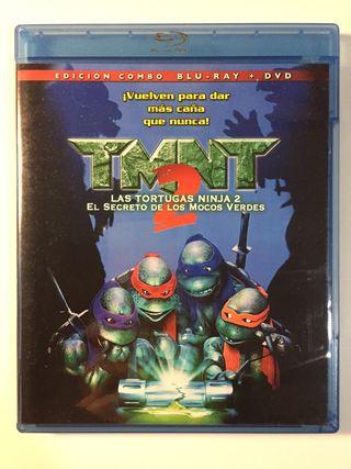 Las Tortugas Ninja 2 (1990) (Blu-Ray y DVD)