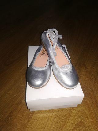 Bailarinas número 28 color plata