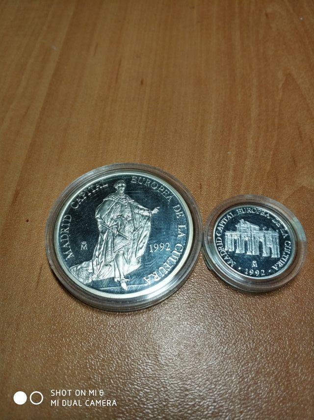 6c18c458cf02 Monedas Plata 1 y 5 Ecus 1992 Madrid de segunda mano por 45 € en ...