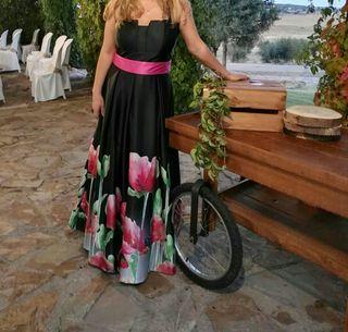 vestido largo boda,fiesta, precio algo negociable