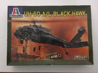 Maqueta helicóptero black hawk 1:35