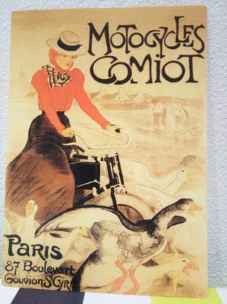 postales decorativas París