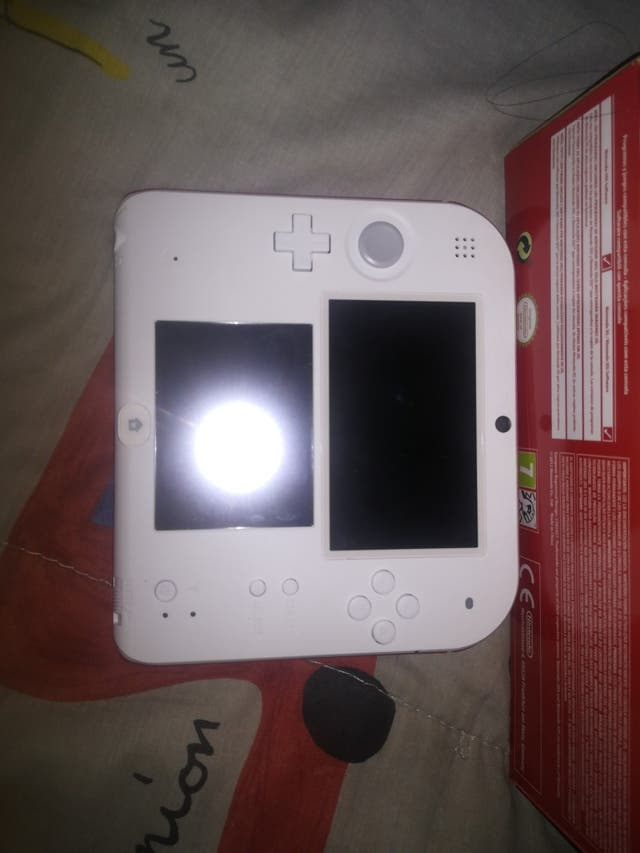 Nintendo 2ds Con Juego De Mario Bros Preinstalado De Segunda Mano