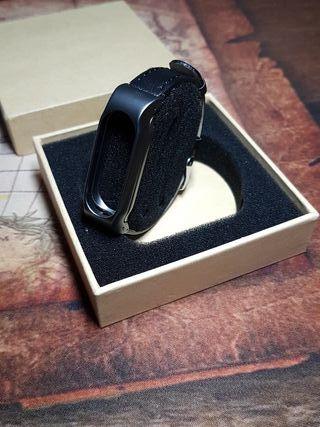 Oferta pulsera Cuero xiaomi mi band 2