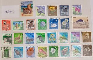 Lote sellos Japón