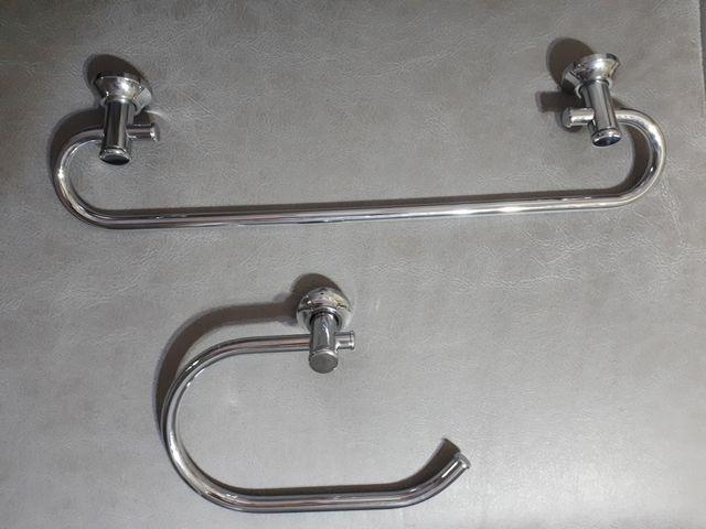 Accesorios cuarto de baño: toalleros y percha de segunda mano por 15 ...