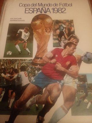 Libro Mundial Fútbol España 1982