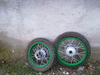 ruedas de moto no son mias