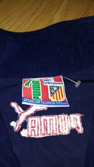 Chaqueta vintage del Atletico de Madrid