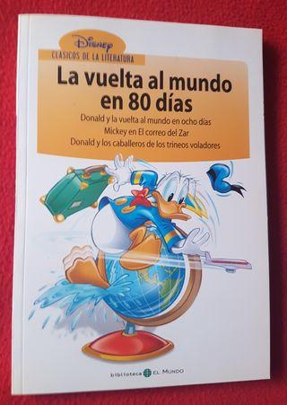 """LIBRO """"CLÁSICOS DE LA LITERATURA N°4"""" DE DISNEY"""