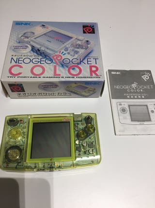 Neo Geo Pocket Color Crystal