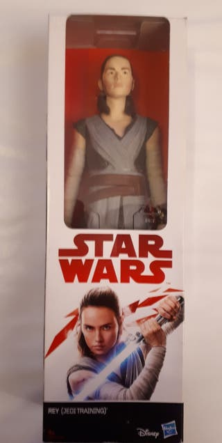 "Figura de Star Wars ""Rey (Jedi Training)"""