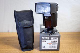 Flash Nissin Di866 MkII con montura para Canon