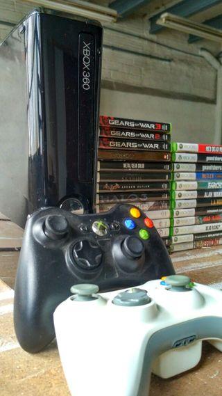Pack Xbox 360 + juegos