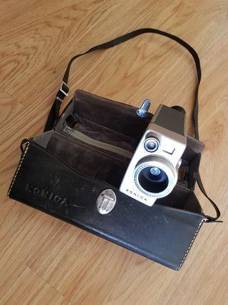 Cámara de vídeo, película 8mm Konica 8E