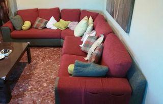 Sofa rinconera de mas de 6 plazas.