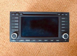 Navegador radio CD VW Touareg