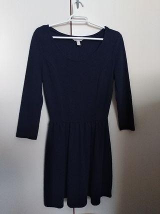 Vestido azul marino springfield