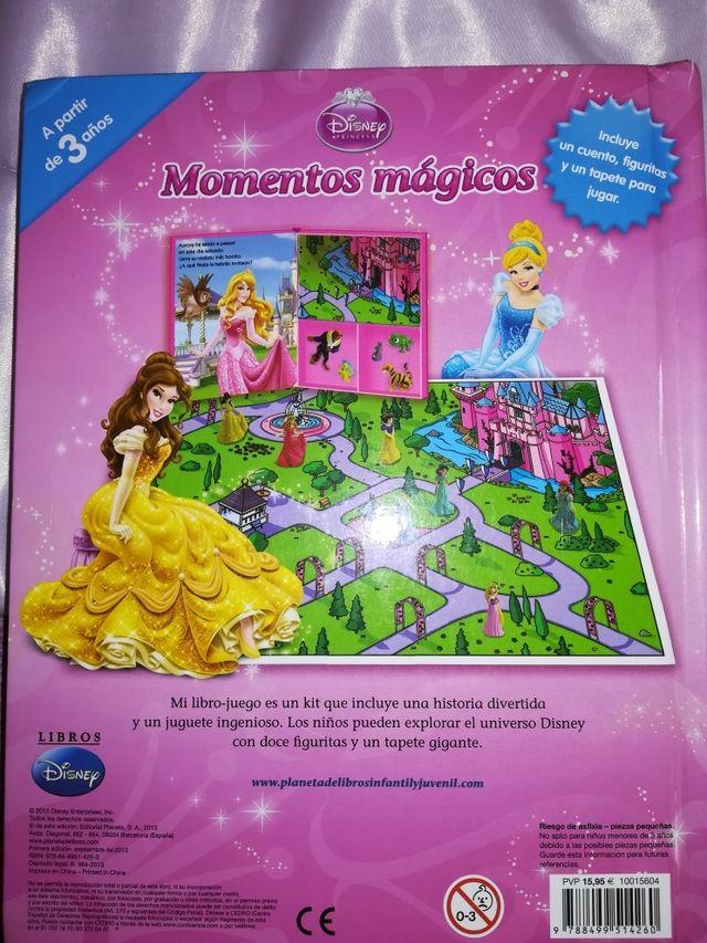 Princesas Disney libro +figuras