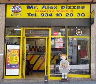 Pizzería en traspaso en funcionamiento