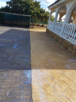 pavimento impreso gran descuento 100%
