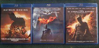 Trilogía Batman de Nolan en Bluray