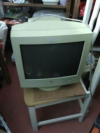 Monitor ordenador vintage