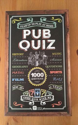 Pub Quiz Game