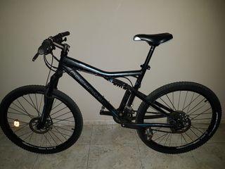 Bicicleta (Horquilla bloqueada)