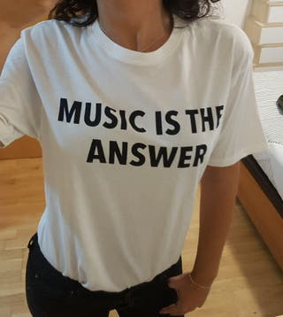 Is Talla Camiseta Music Answer S De Segunda Por Mano 7 The Mango CeoWrBdx