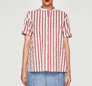 Camisa rayas oversize