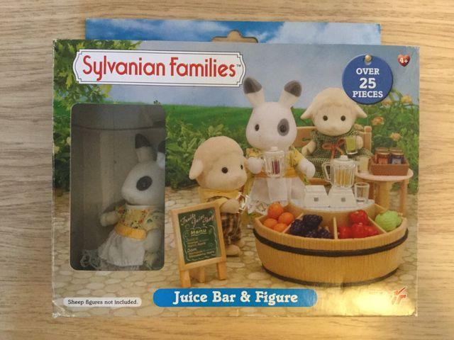 Sylvanian families bar de zumos