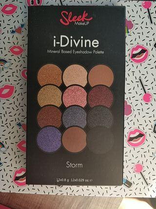 """sleek eyeshadow palette """"storm"""""""