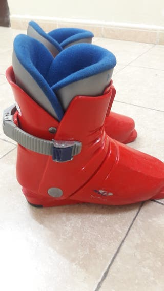 botas ski júnior head