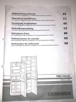 piezas Liebherr accesorios frigorifico nevera