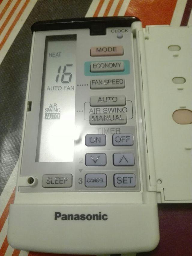 Mando aire acondicionado Panasonic