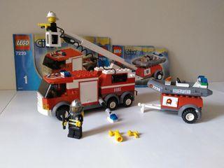 Camión Bomberos. LEGO city 7239