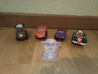 Lote figuras Disney Infinity cars