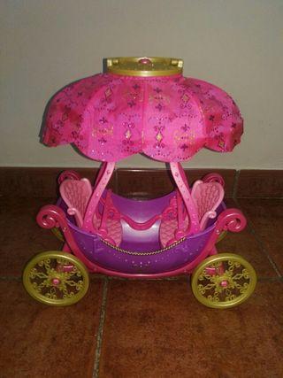 Carroza globo Barbie