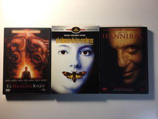 Saga Hannibal Lecter (DVD)
