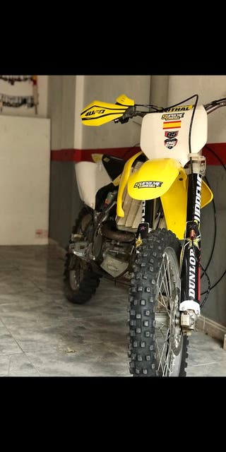 moto suzuki rmz 250 4t 2006