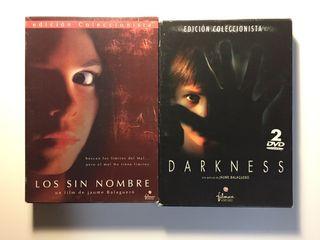 Jaume Balagueró: Los sin Nombre y Darkness (DVD)