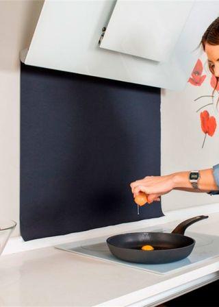 Protector salpicaduras para la cocina
