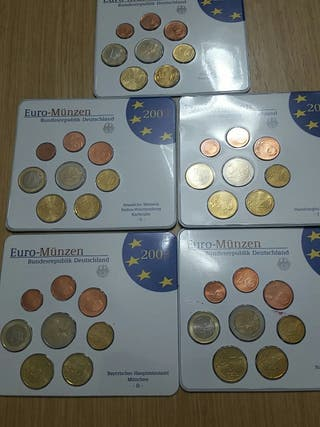 Monedas Alemania. Euros 2003